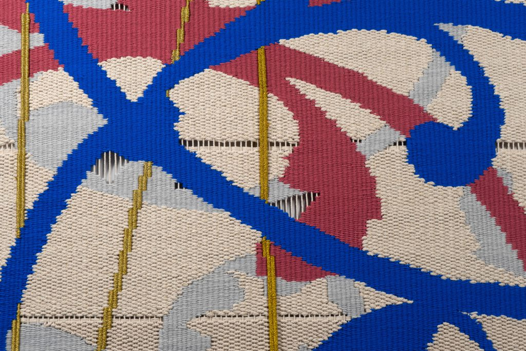 纹样XII织物1局部2